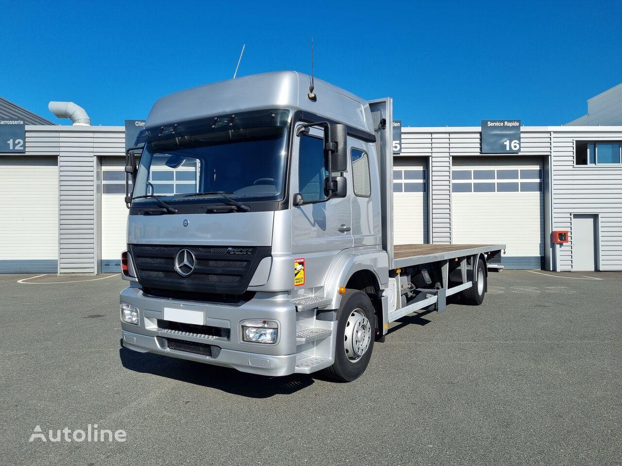 MERCEDES-BENZ 1828 flatbed truck