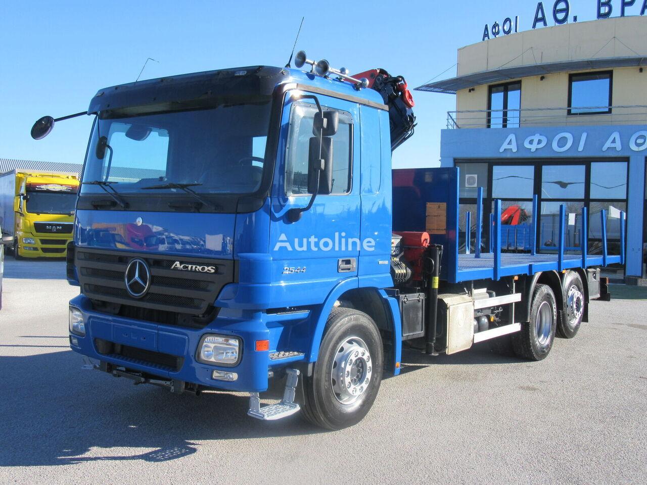 MERCEDES-BENZ 2544 L 6X2 / EURO 5 flatbed truck