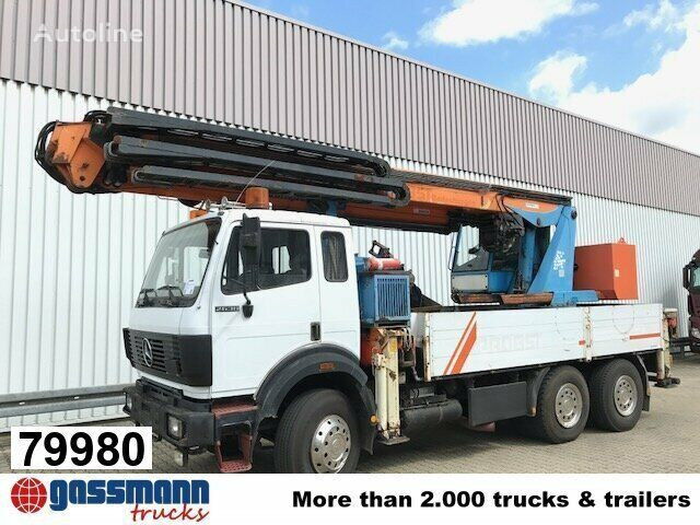 MERCEDES-BENZ 2638 K flatbed truck