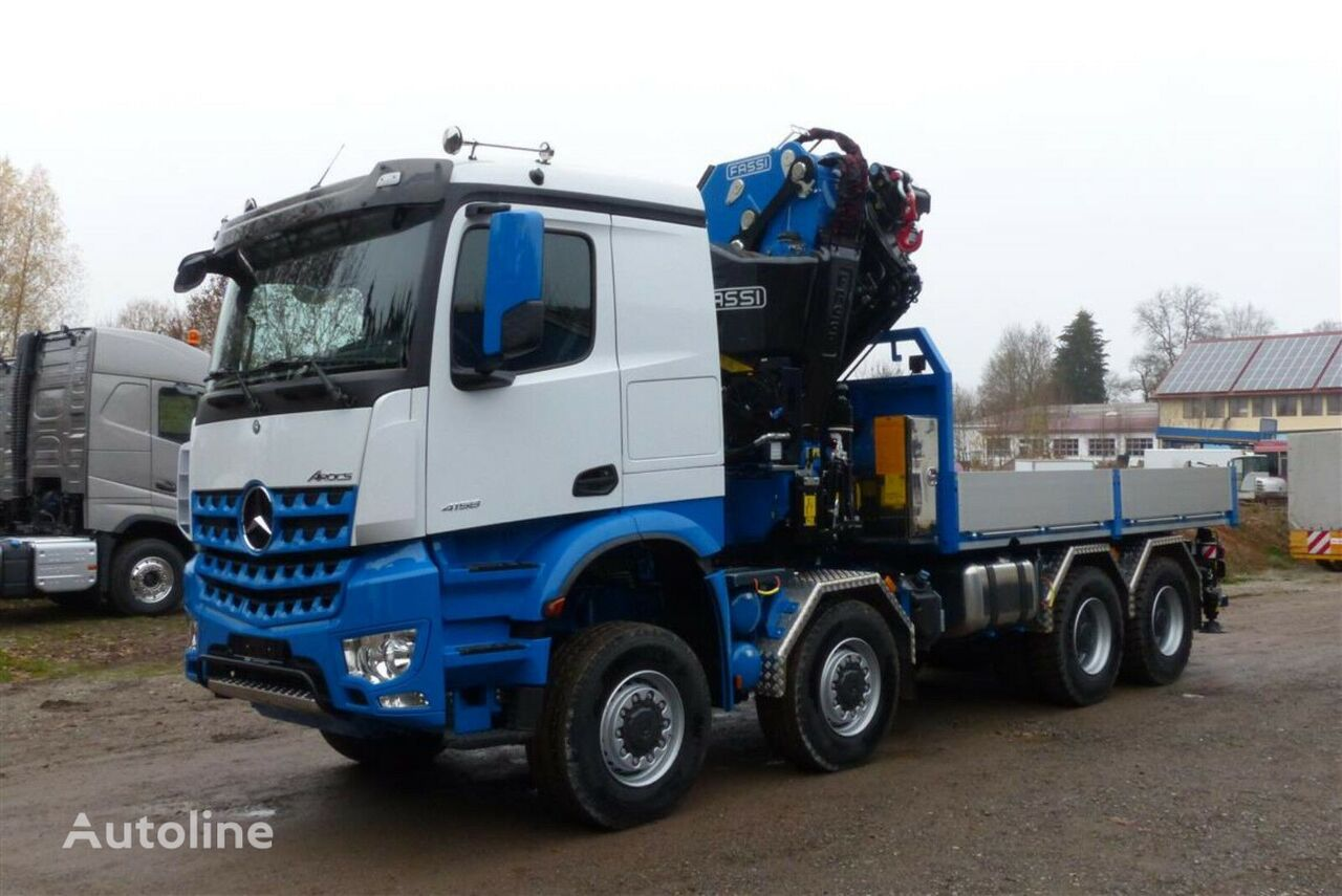 new MERCEDES-BENZ 4158 - 8x8 ALLRAD  flatbed truck