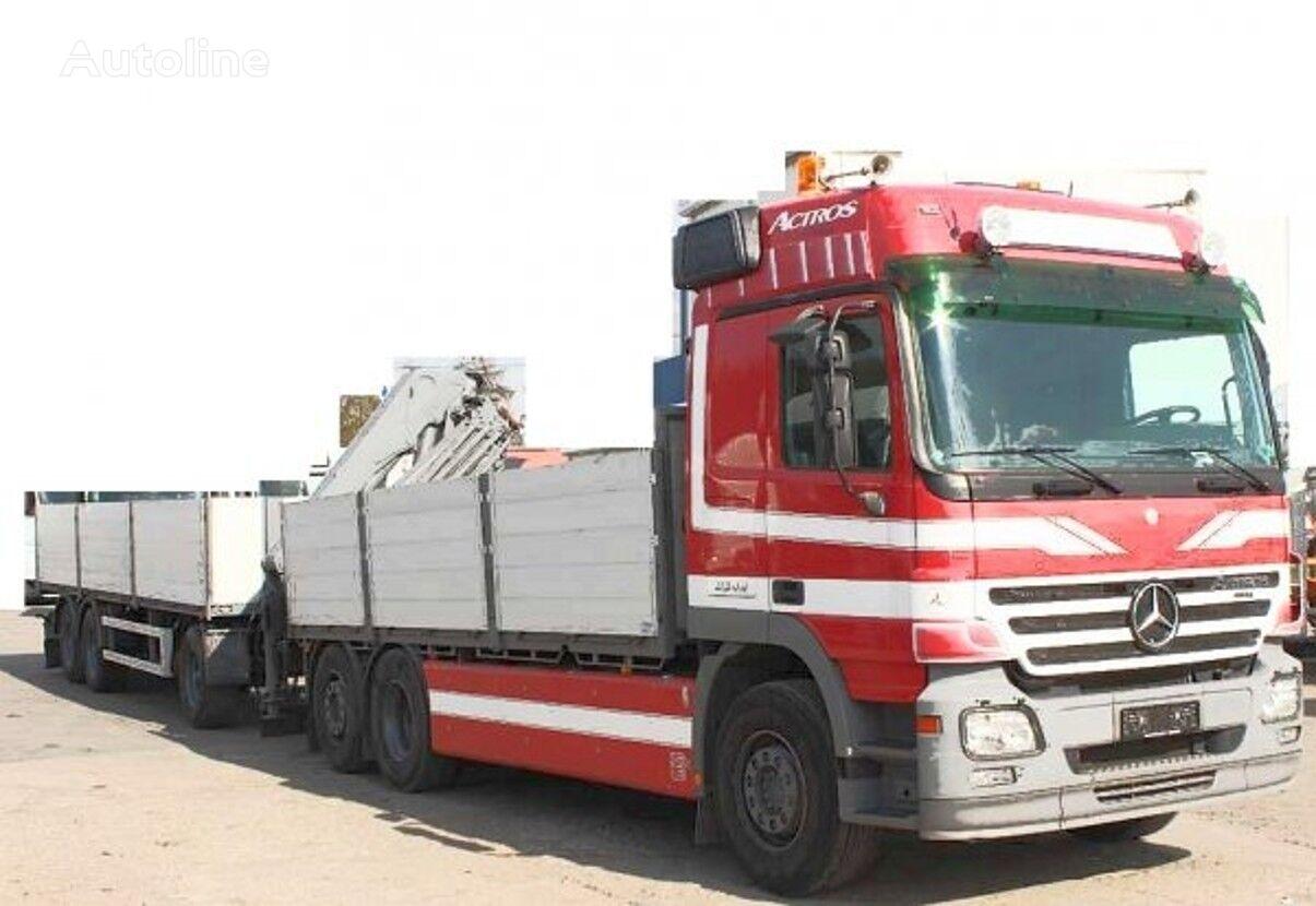 MERCEDES-BENZ 6x2 Actros +HMF (2017 motor engine silnik flatbed truck