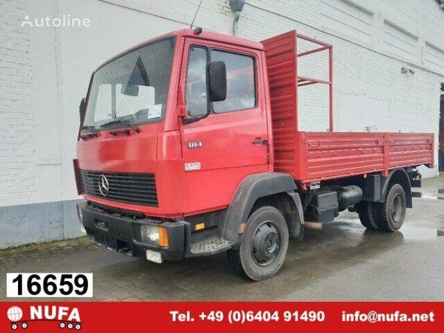 MERCEDES-BENZ 814 814 Pri flatbed truck