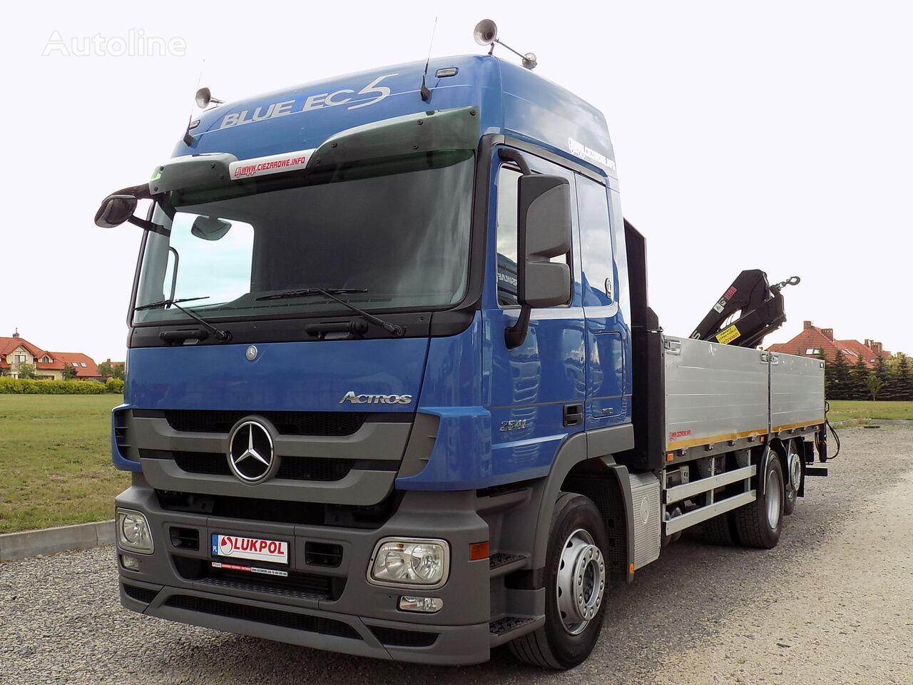 MERCEDES-BENZ ACTROS 2541  flatbed truck