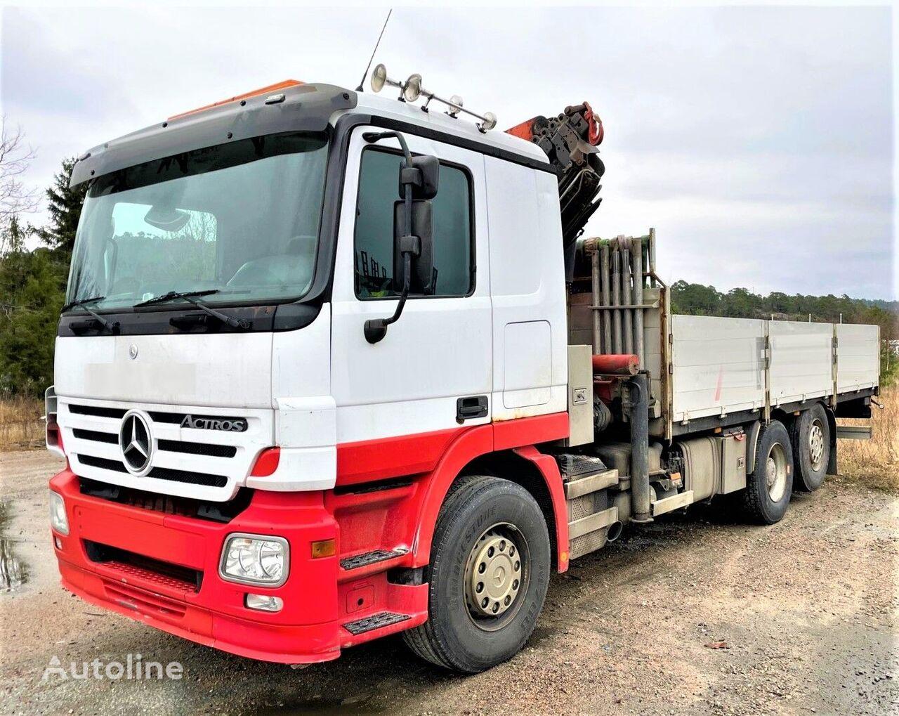 MERCEDES-BENZ ACTROS 2544 Topzustand! flatbed truck