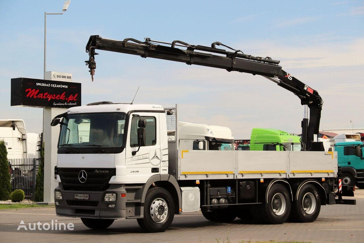MERCEDES-BENZ ACTROS 2636  flatbed truck