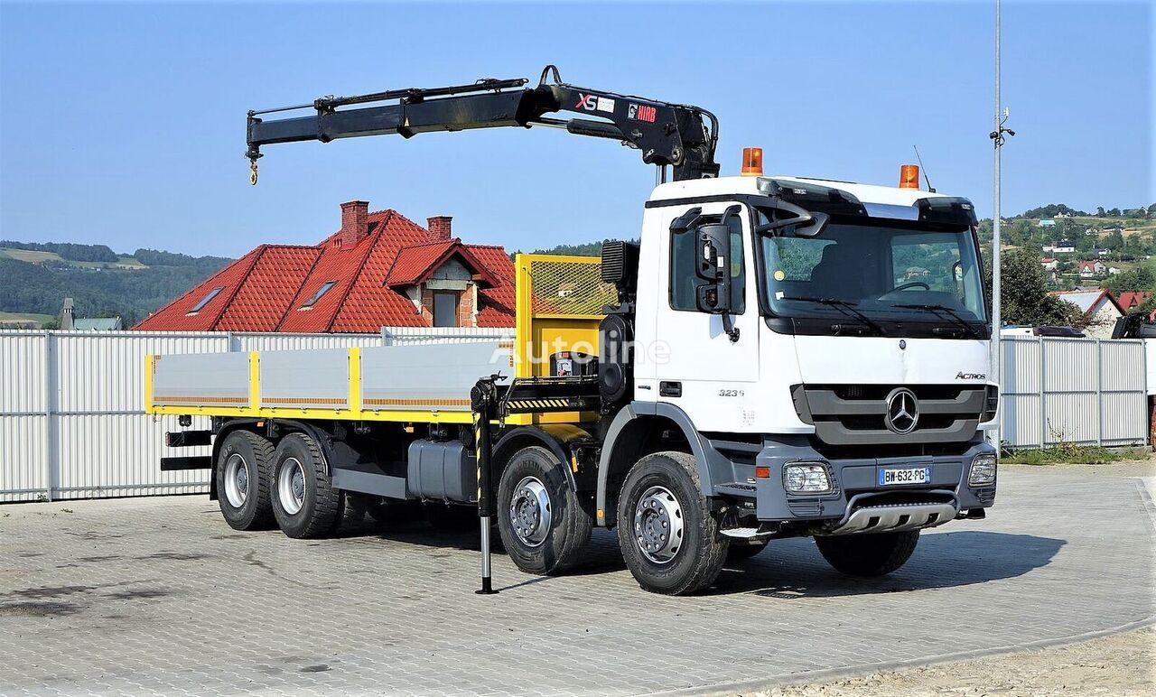 MERCEDES-BENZ ACTROS 3236 flatbed truck