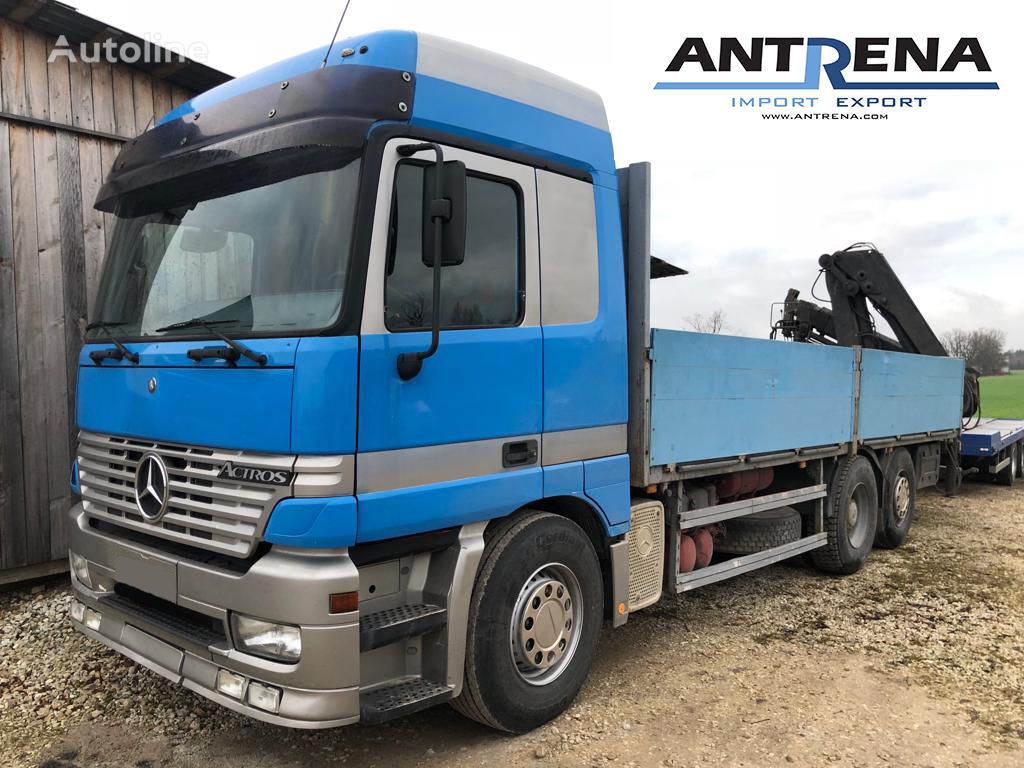 MERCEDES-BENZ Actros 2540 flatbed truck