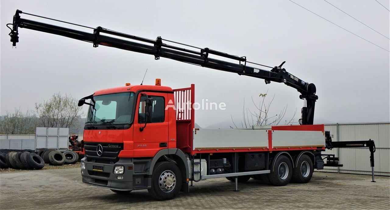 MERCEDES-BENZ Actros 2636 Pritsche 6,80 m+KRAN/FUNK* 6x4 flatbed truck