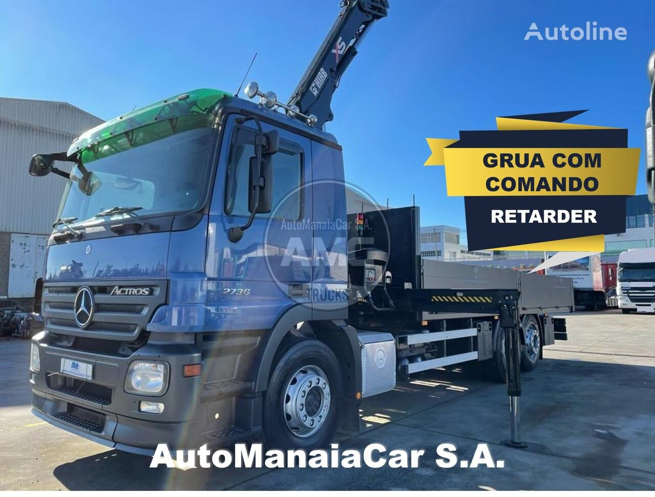 MERCEDES-BENZ Actros 2736 flatbed truck