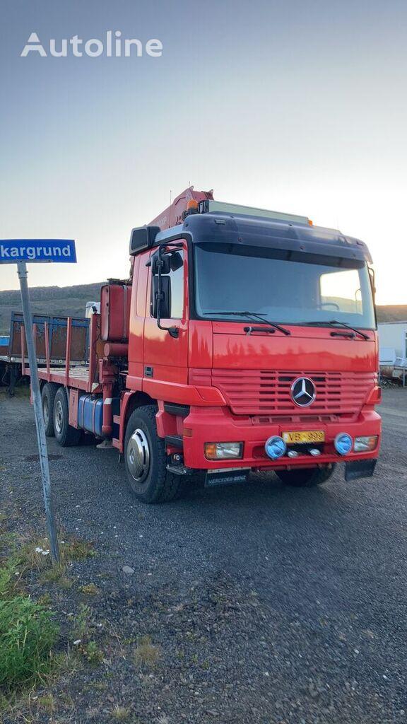 MERCEDES-BENZ Actros 3335 flatbed truck