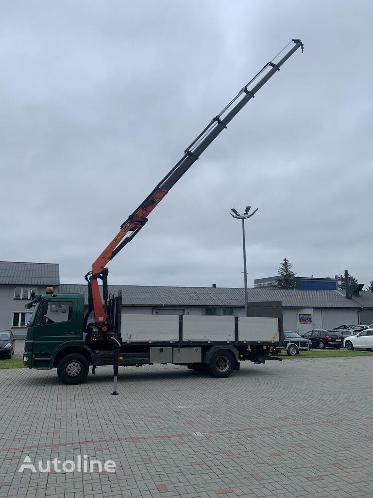 MERCEDES-BENZ Atego 1524L 4x2 Palfinger 16502 D E5 flatbed truck