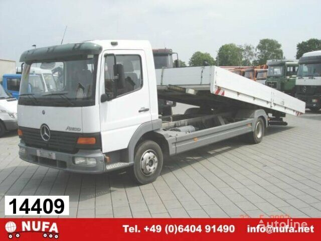 MERCEDES-BENZ Atego 817L 4x2 Umweltplakette Rot flatbed truck