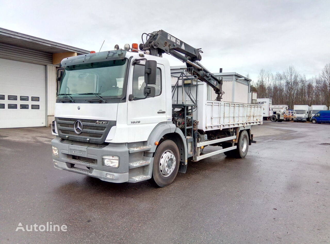 MERCEDES-BENZ Axor 1828K flatbed truck