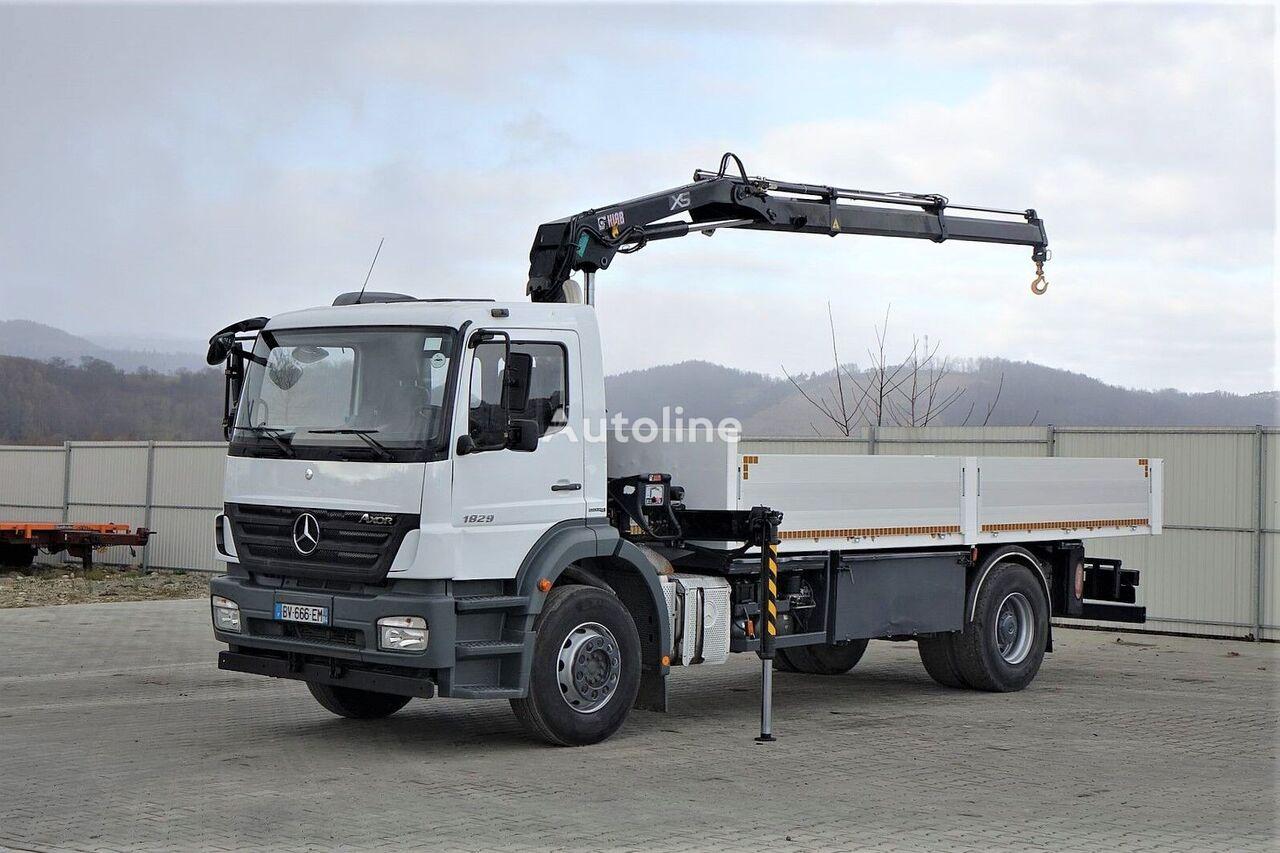 MERCEDES-BENZ Axor 1829 Topzustand flatbed truck