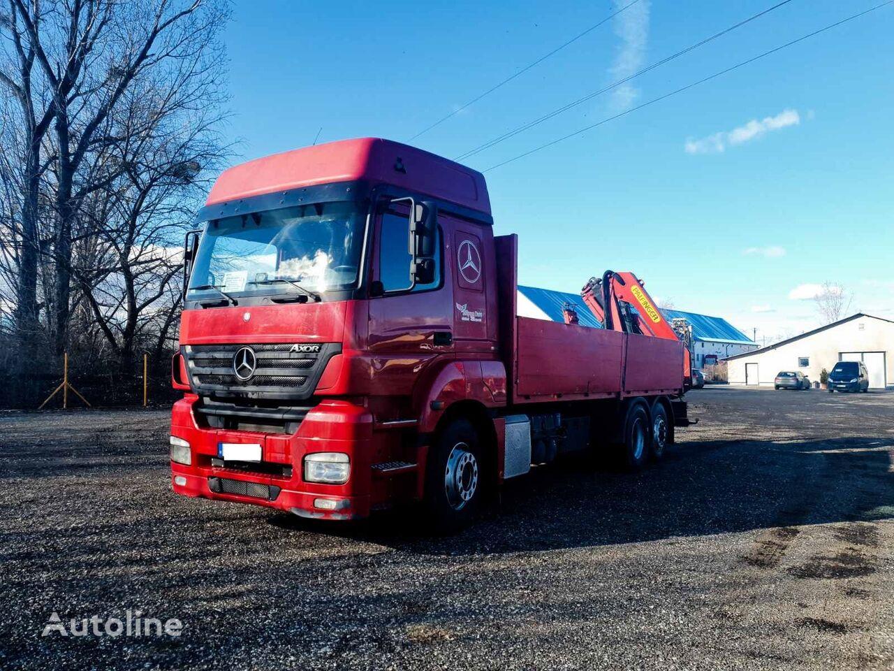 MERCEDES-BENZ Axor 2543 L flatbed truck
