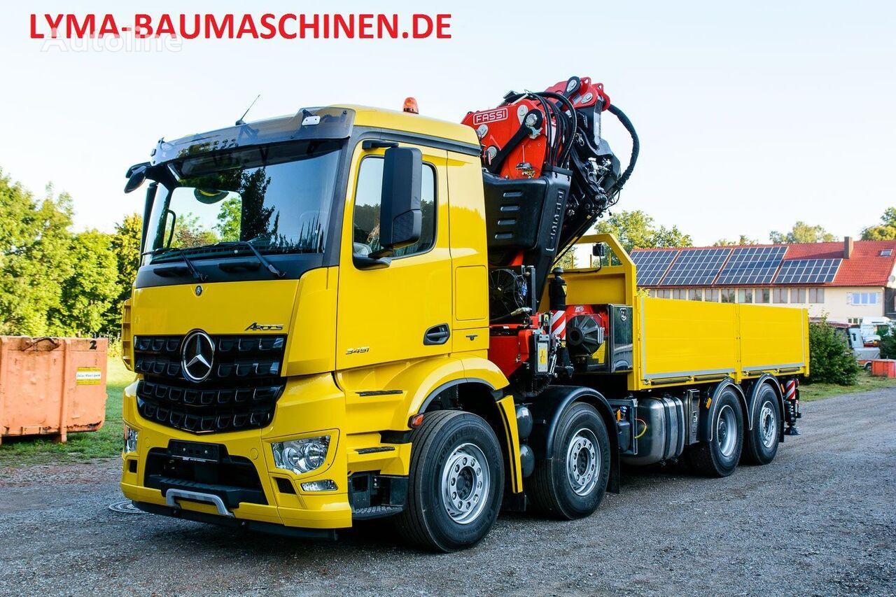 new MERCEDES-BENZ FASSI 820 RA2.27 FJ L 426 flatbed truck