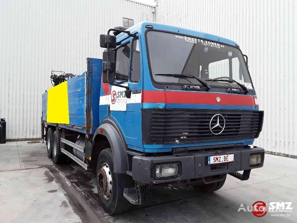 MERCEDES-BENZ SK 2538 hiab 140 K flatbed truck