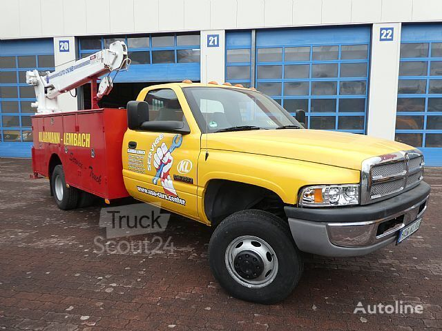 RAM 3500 flatbed truck