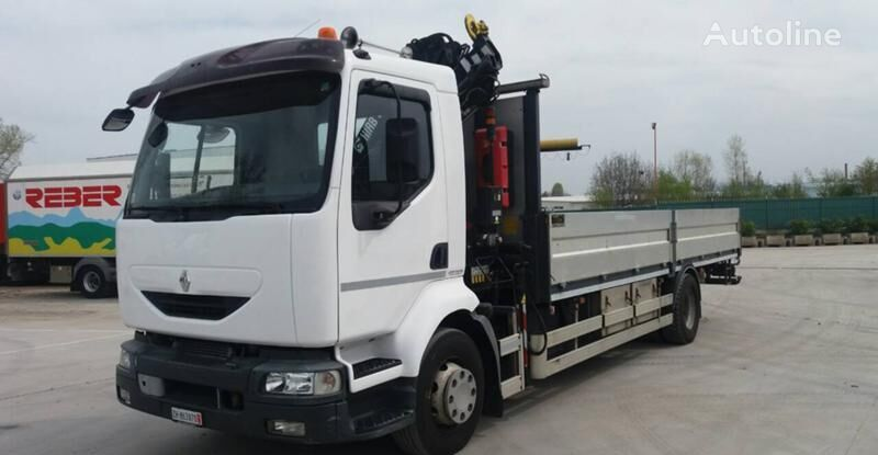 RENAULT Midlum 270 flatbed truck