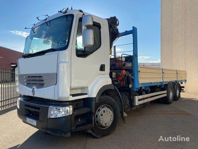 RENAULT PREMIUM 380.26DXI flatbed truck