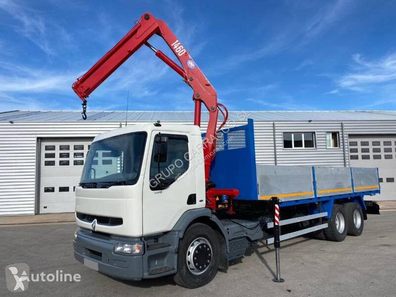 RENAULT Premium 320 flatbed truck