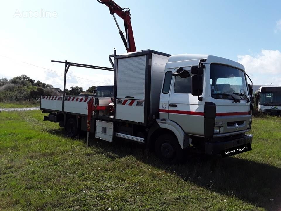 RENAULT S 150 flatbed truck
