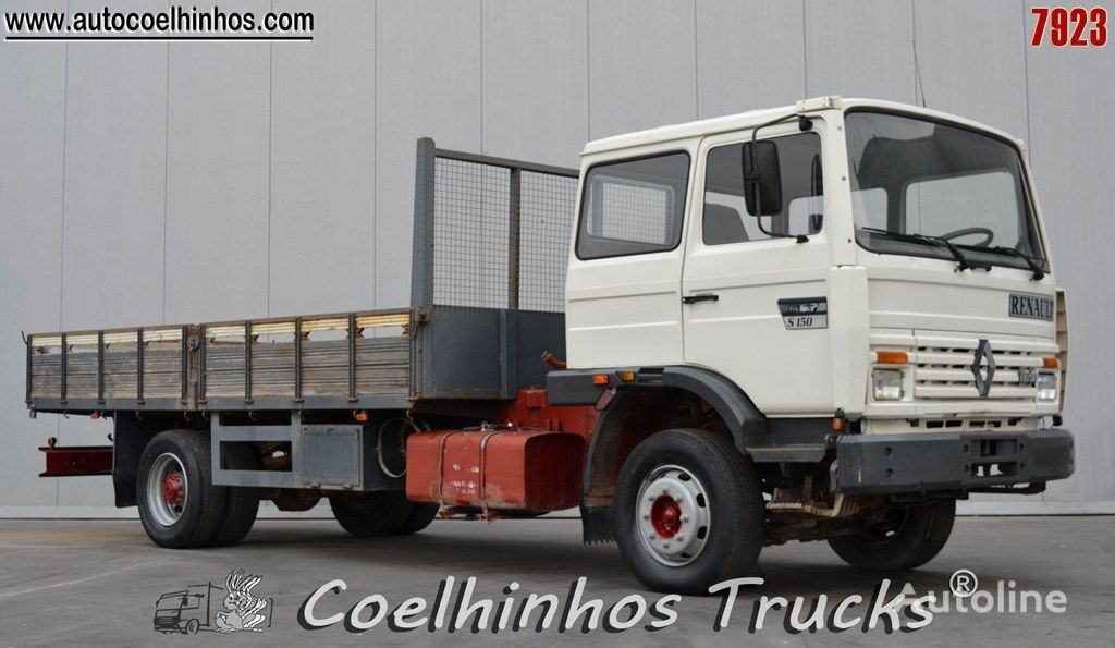 RENAULT S 150.13 flatbed truck