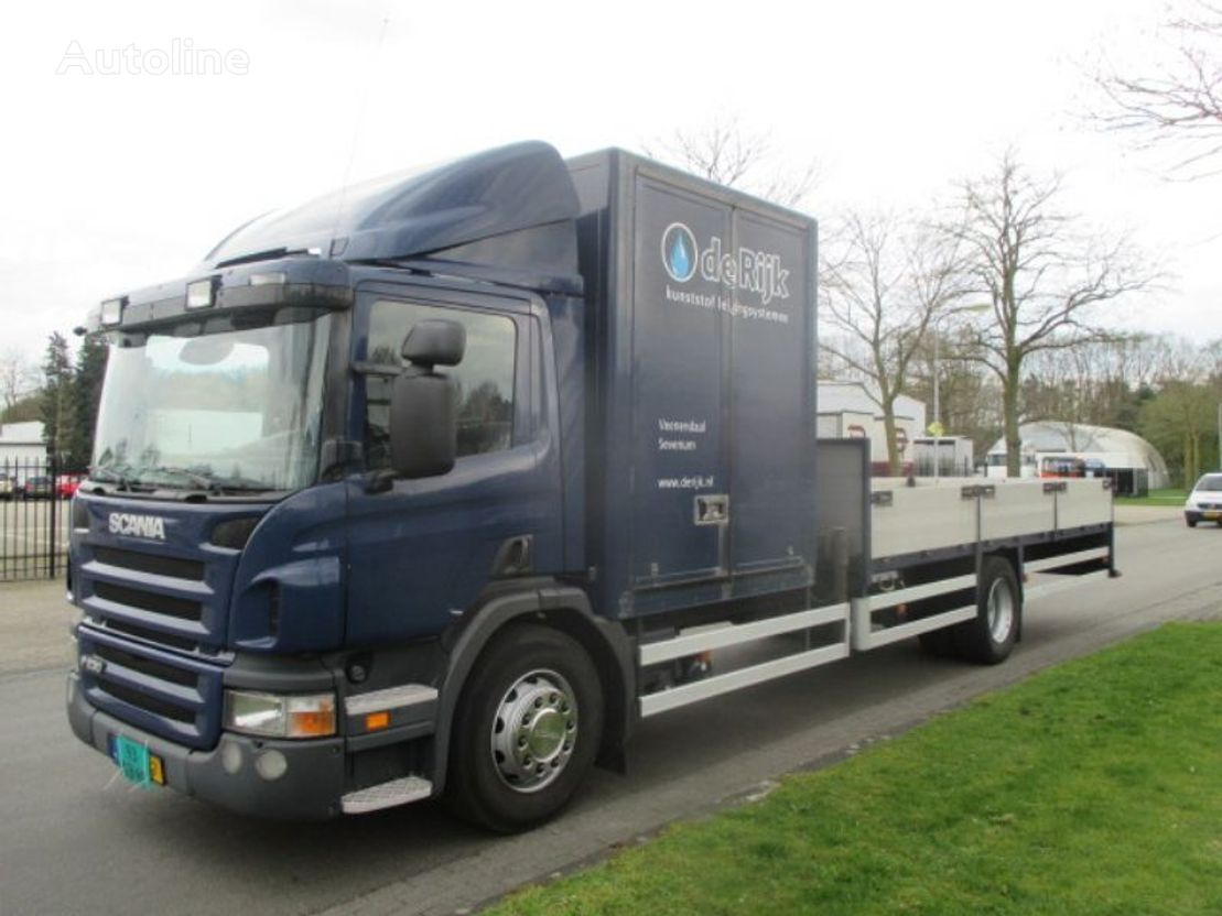 SCANIA P 230 flatbed truck