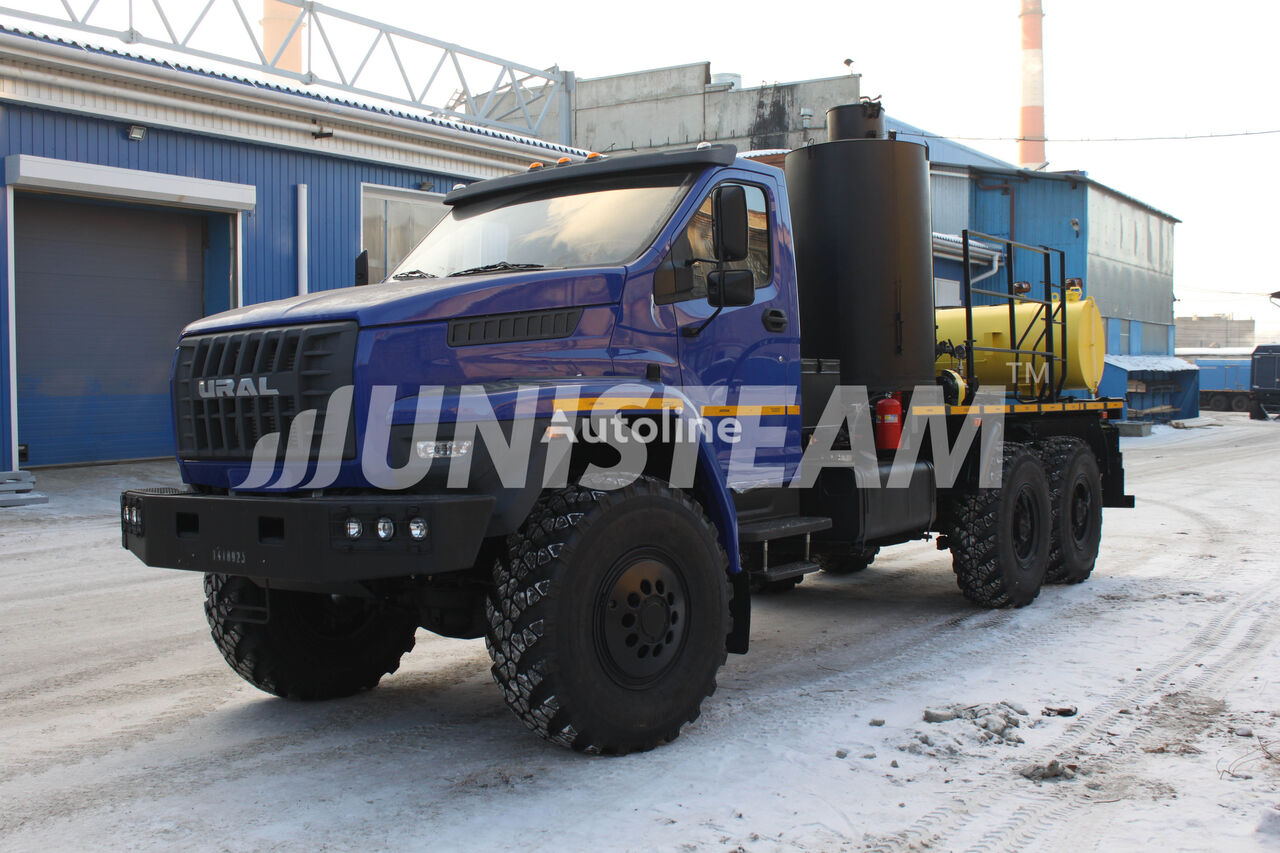 new UNISTEAM AS6 URAL NEXT 4320 flatbed truck