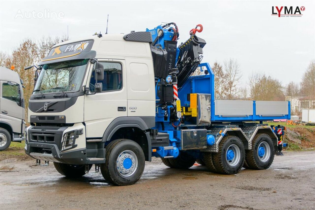 new VOLVO flatbed truck