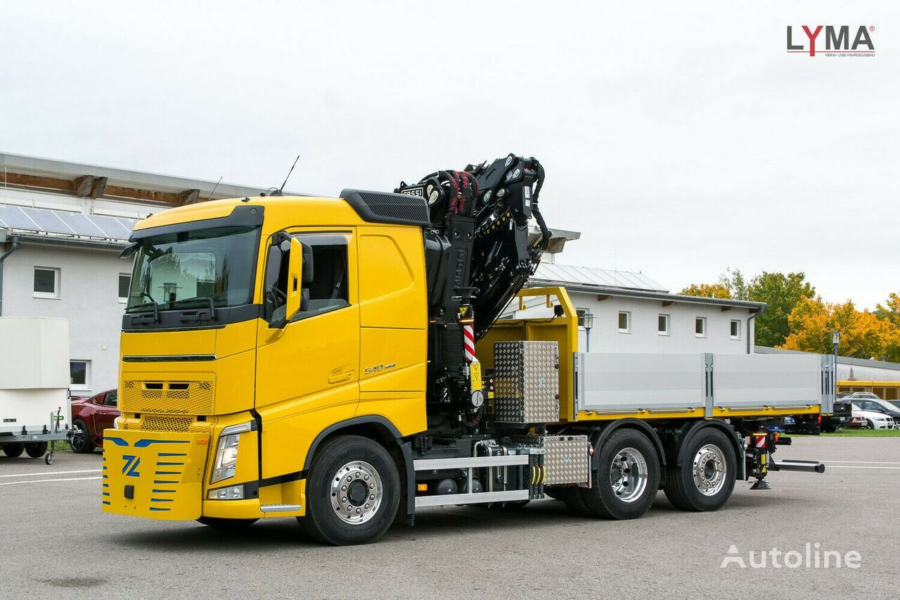 new VOLVO 545RA2.26L324  flatbed truck