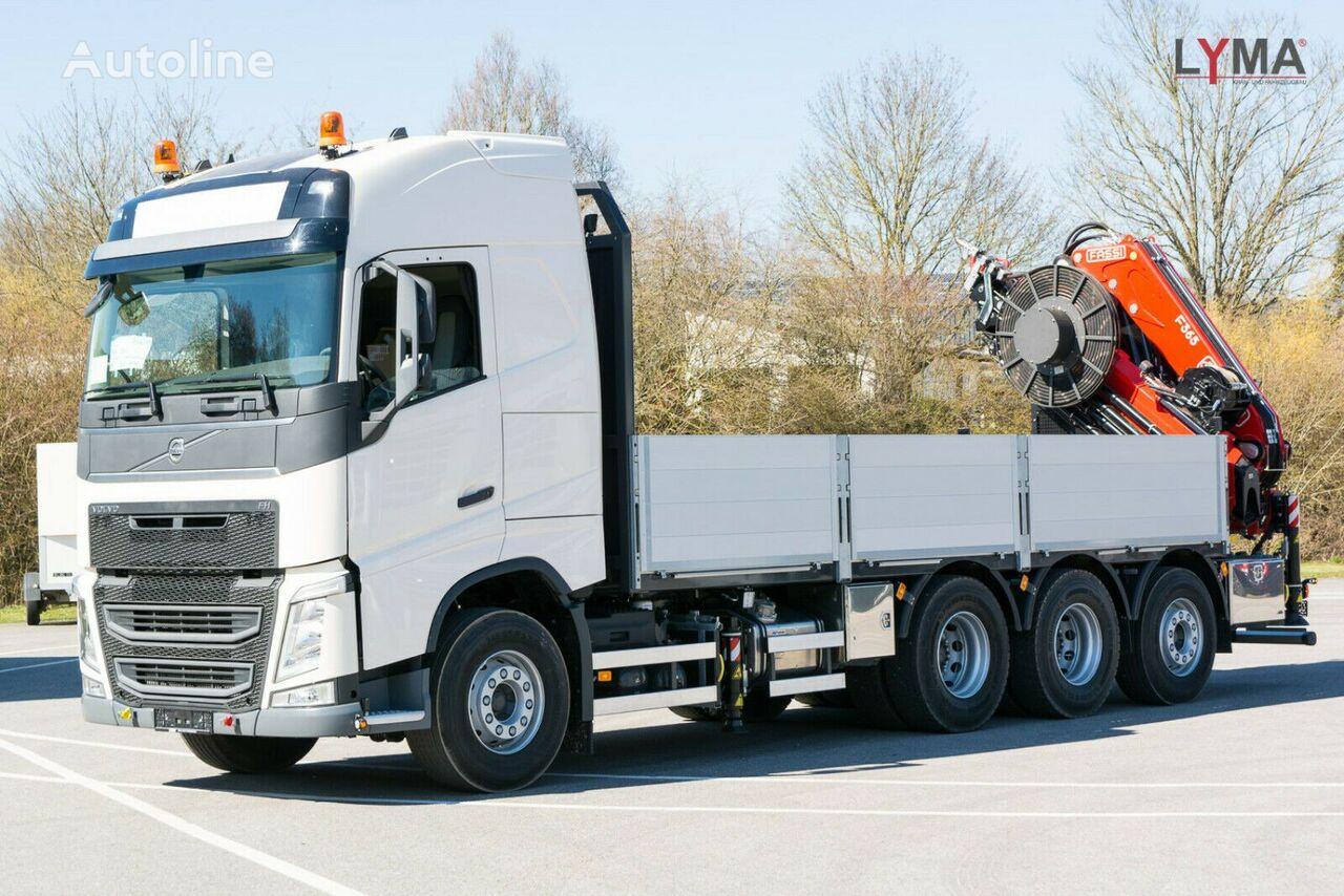 new VOLVO FH540 - EXTRA HYDRAULIK flatbed truck