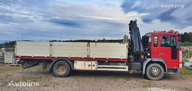VOLVO FL 6 4x2 Hiab 122 E 5 HIPRO Crane flatbed truck