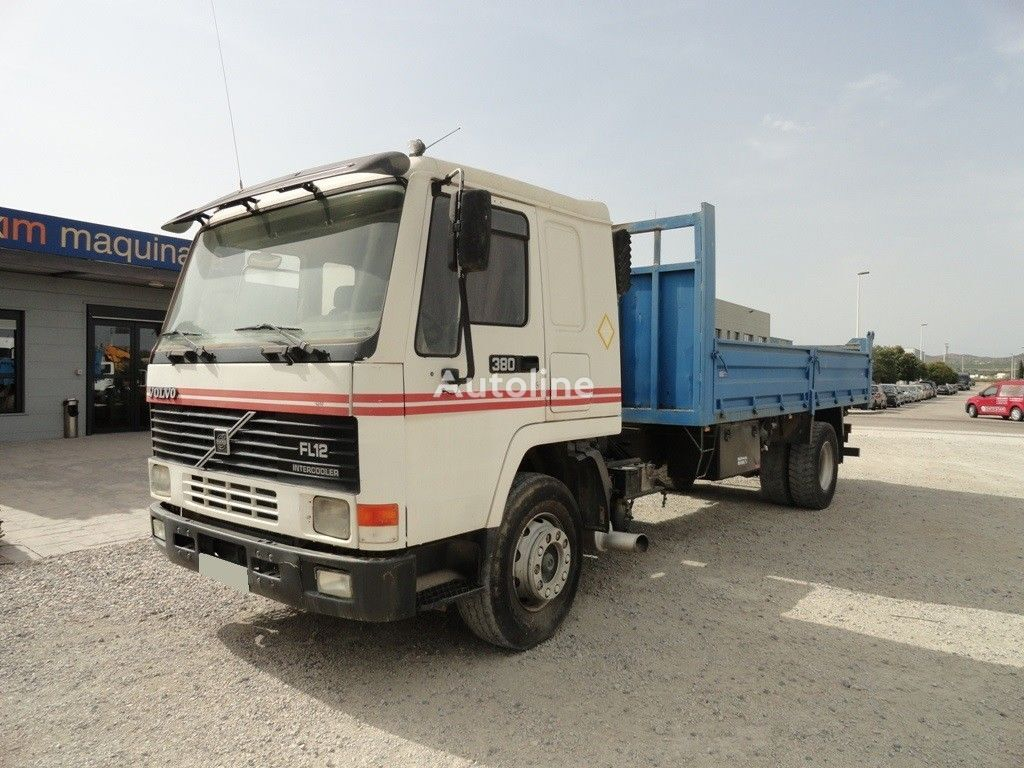 VOLVO FL12-380 Intercooler flatbed truck