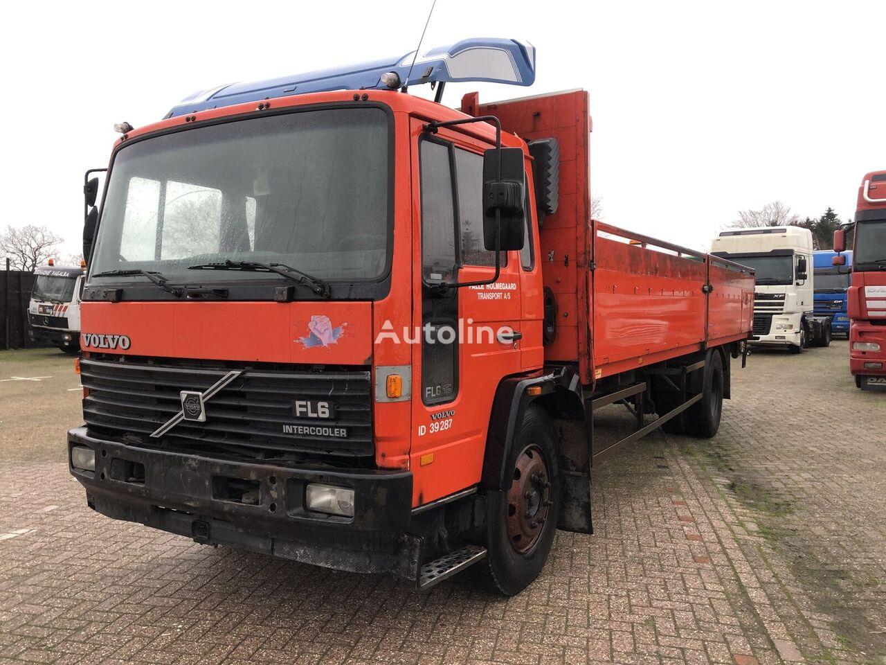 VOLVO FL6 15 flatbed truck
