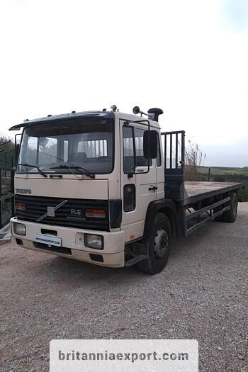 VOLVO FL617 Intercooler left hand drive 17 ton ZF manual flatbed truck