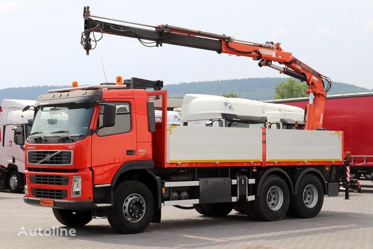 VOLVO FM 360 flatbed truck