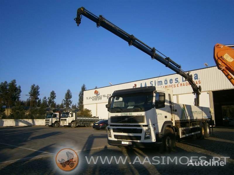 VOLVO FM12 380  flatbed truck