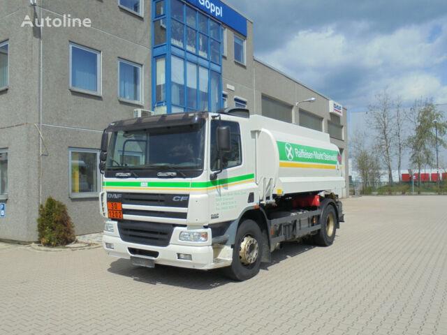DAF CF75.310 ROHR 13.500L 2 Kammern Heizöl Diesel fuel truck