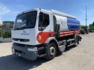 damaged RENAULT Premium 270 fuel truck