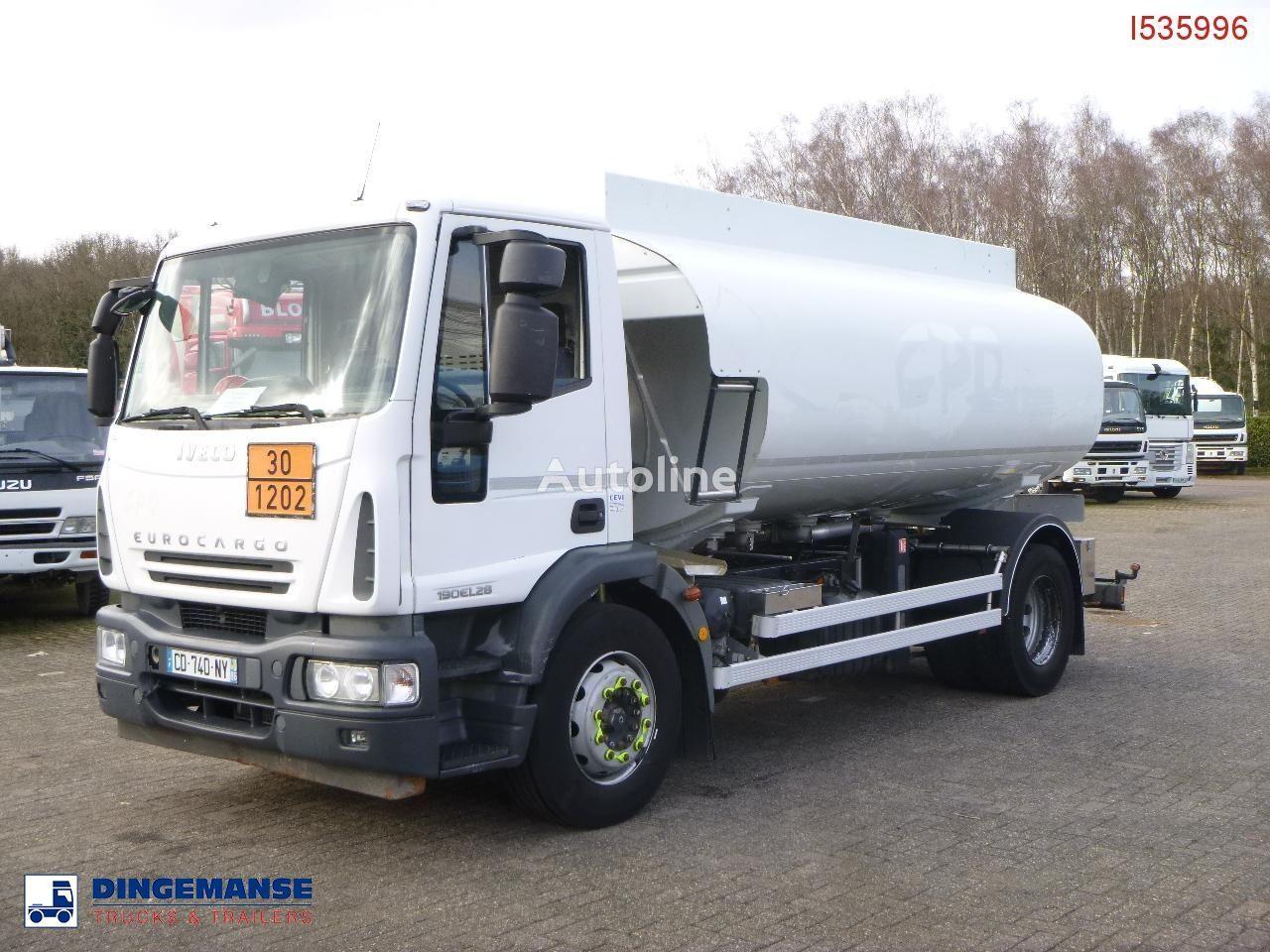 IVECO Eurocargo ML190EL28 4x2 fuel tank 13.7 m3 / 4 comp fuel truck