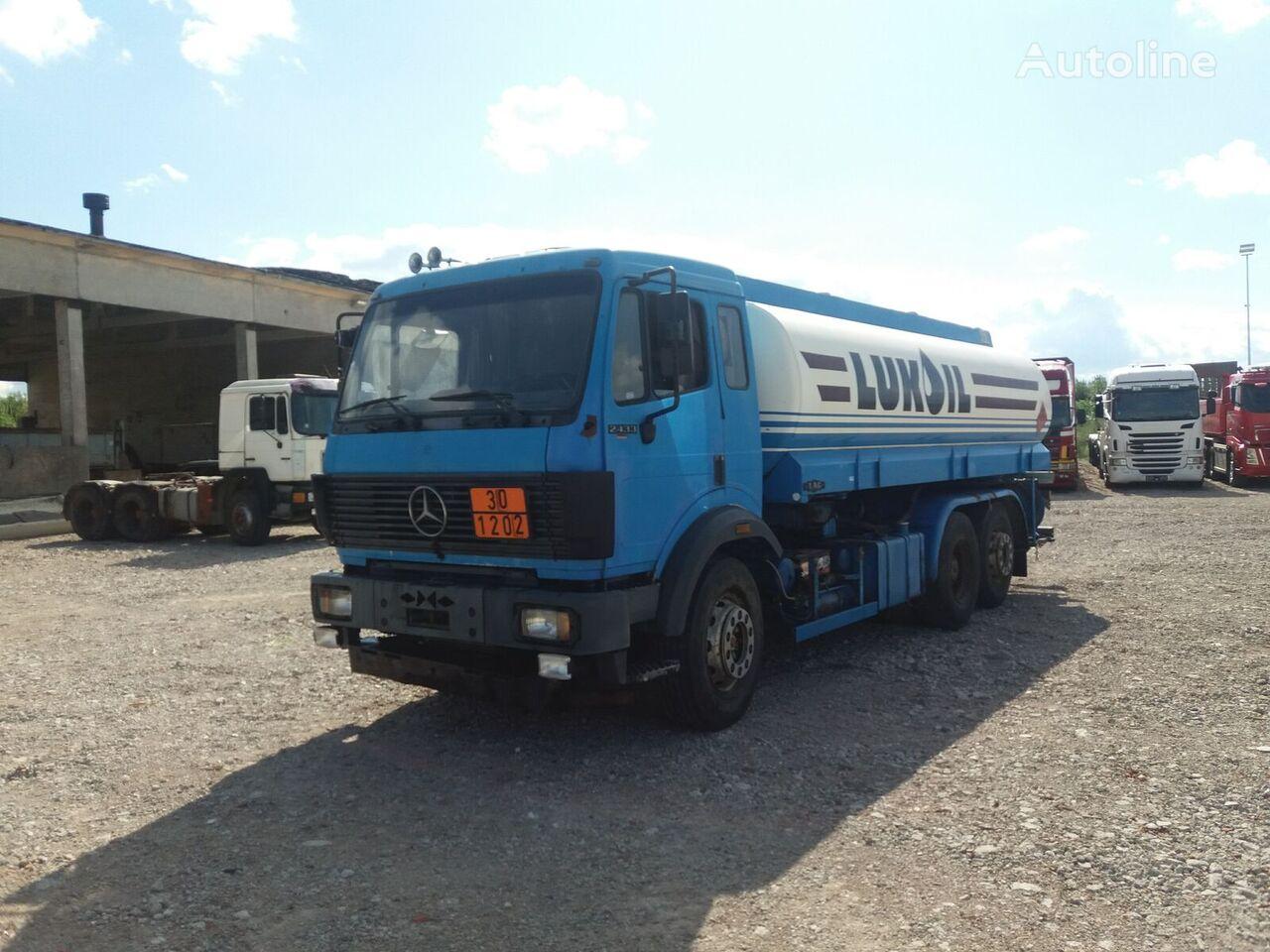 MERCEDES-BENZ 2433 fuel truck