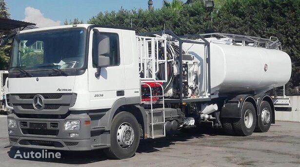 new MERCEDES-BENZ NEW REFUELLER TANKER Actros 3 2536 L fuel truck