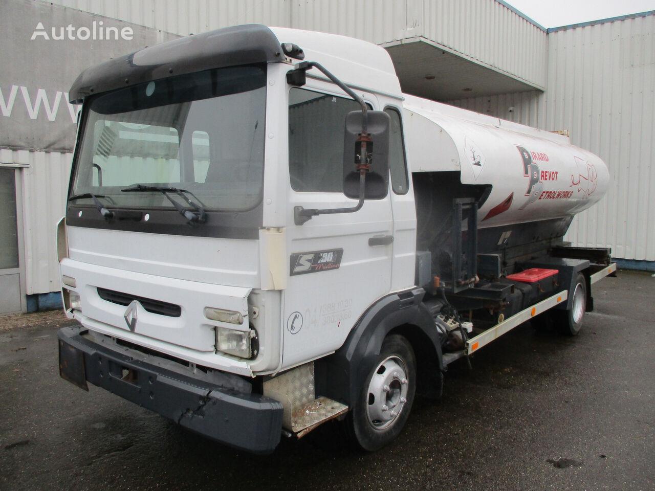 RENAULT Midliner S 180 , 4x2 , Belgium Fuel Truck , 7000 liters fuel truck