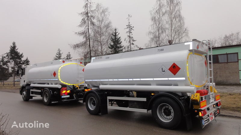 new SCANIA DAF,MAN,VOLVO,MB fuel truck + tilt trailer