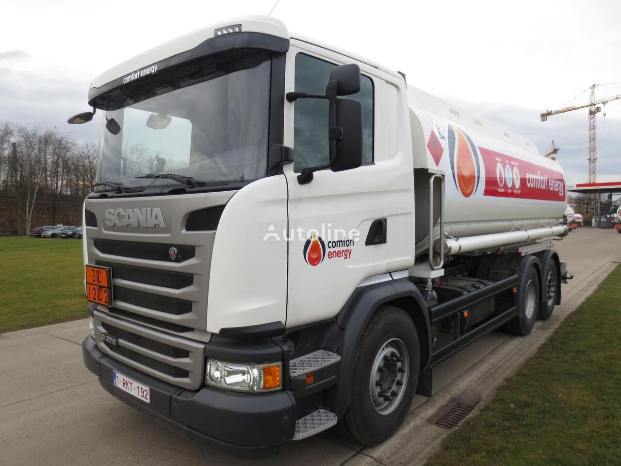 SCANIA FM  fuel truck