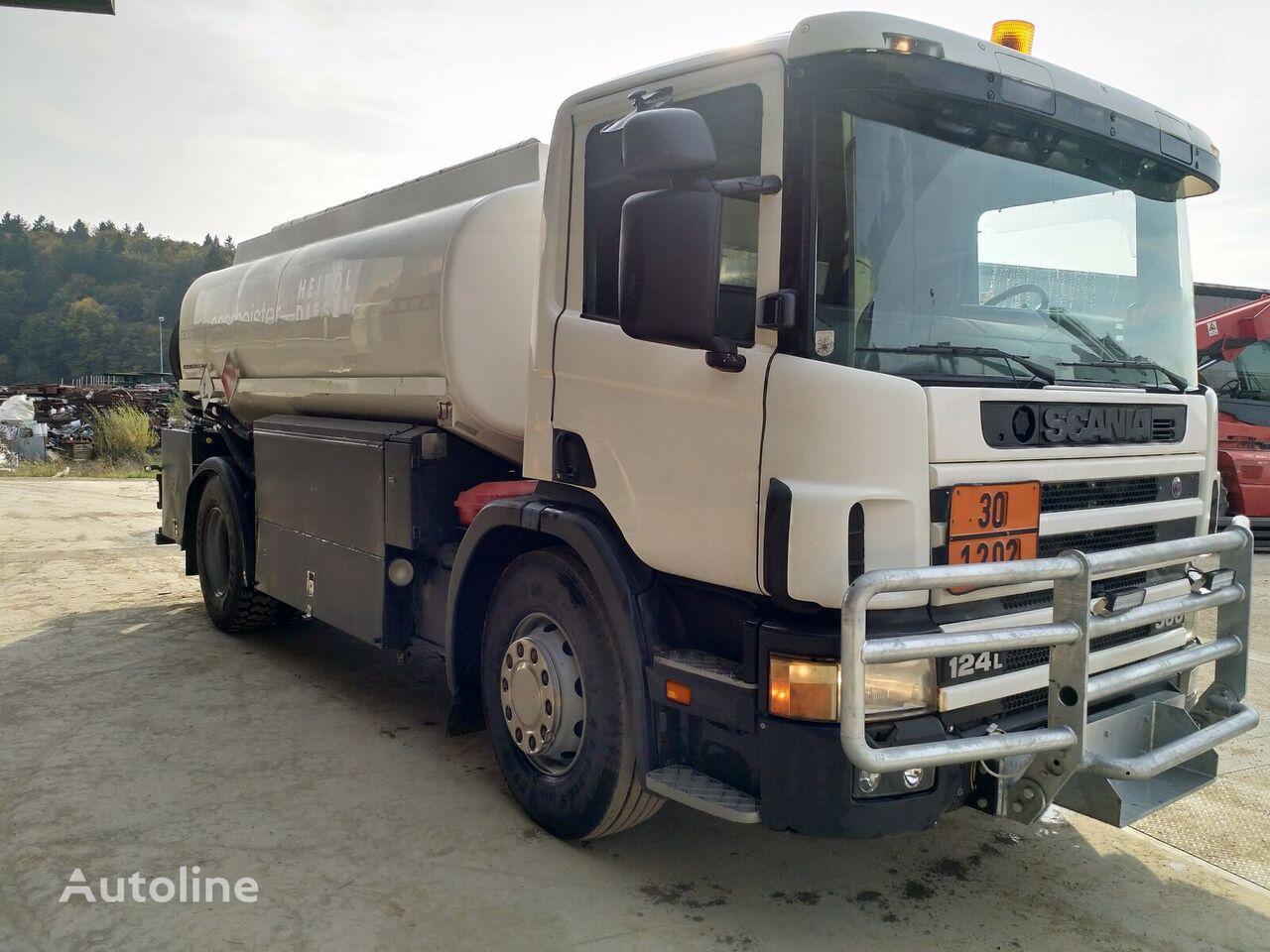 SCANIA P124 360 fuel truck