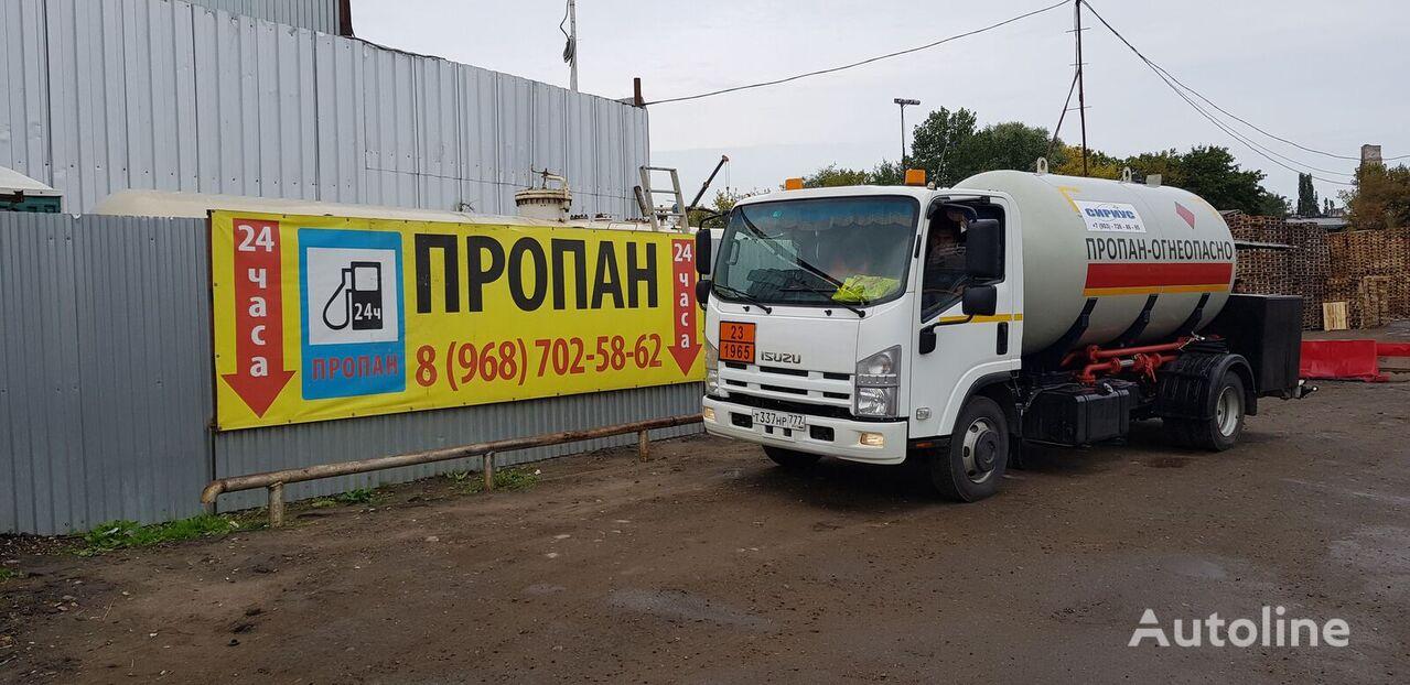 ISUZU gas truck