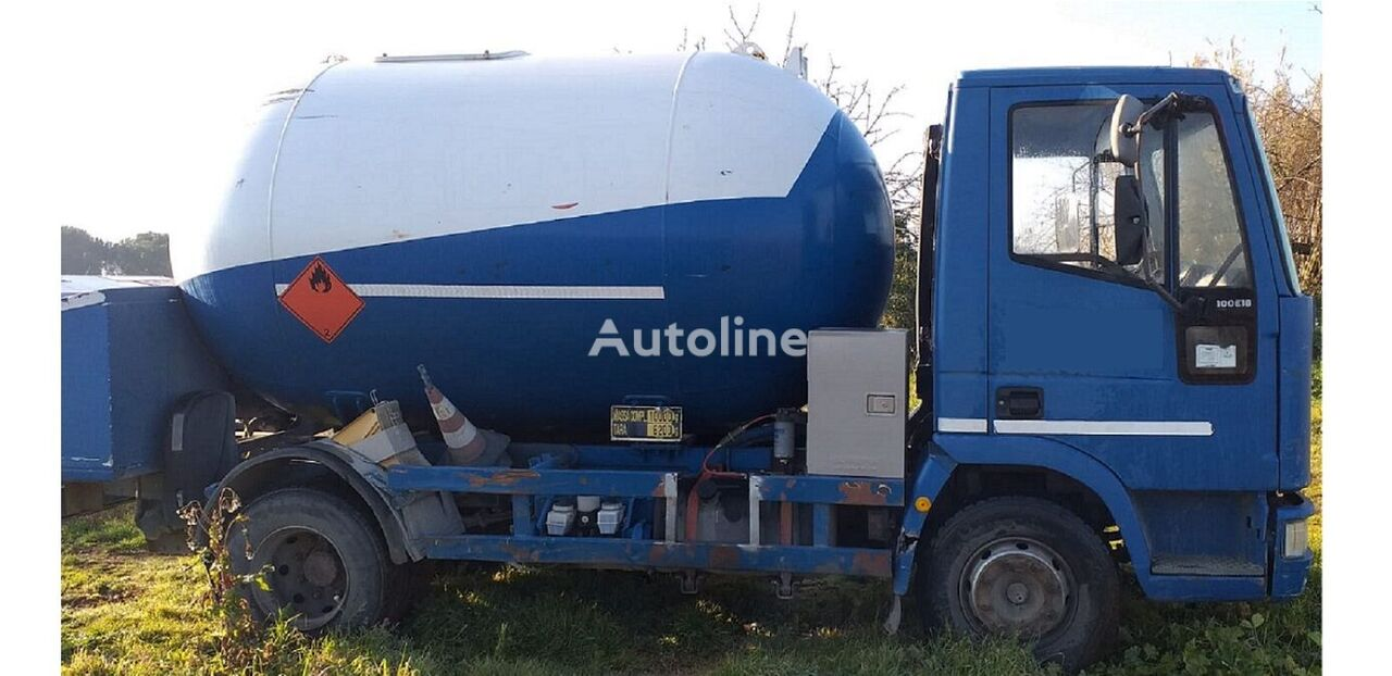 IVECO 100E18 LPG/GAS Volume 8650LTR TRUCK STAY IN LAGOS PUMP+METER+HOS gas truck
