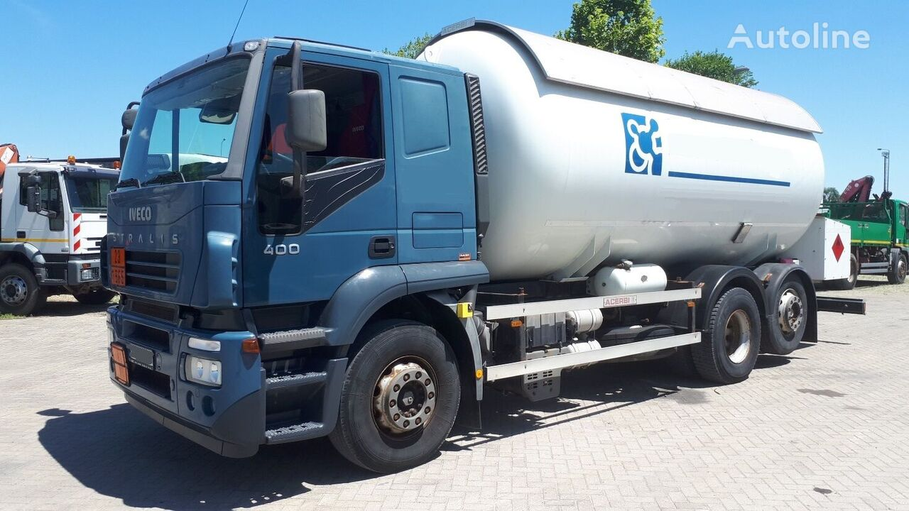 IVECO AT260S40 25m3 52000km gas truck